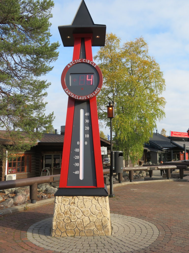 santa claus village northern finland rovaniemi temperature in september autumn is it worth visiting if there's no snow