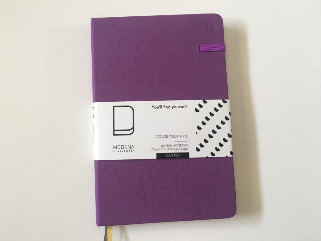 Modena dot grid notebook review bullet journaling australia officeworks
