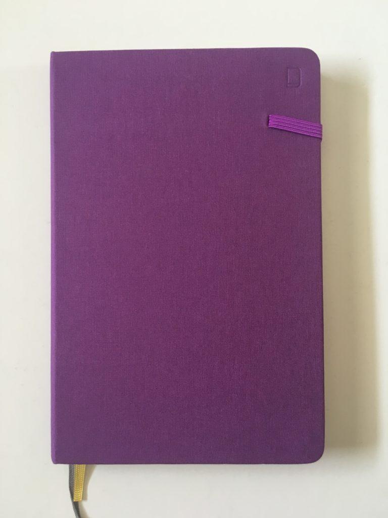 Modena dot grid notebook review bullet journaling australia officeworks video flipthrough