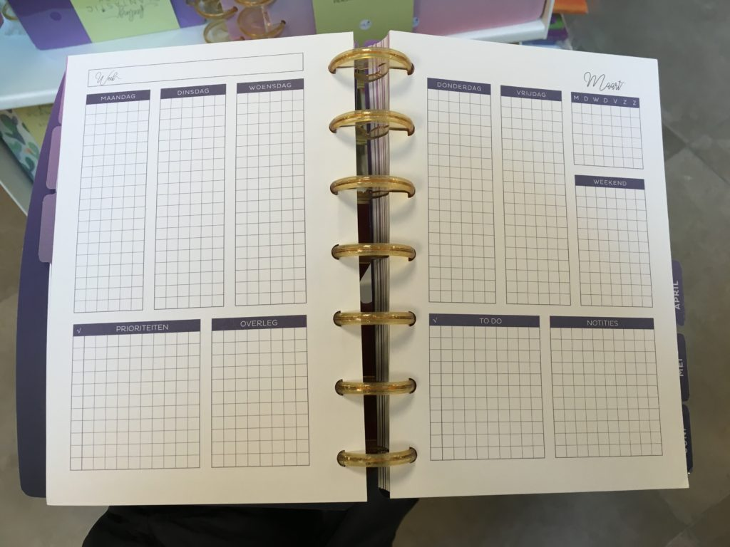 Musboeken discbound planner review