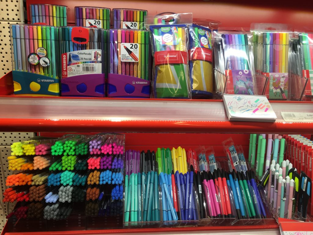 Papeterie NIAS brussels best stationery shops planner supplies discbound pens paper planners stabilo fineliner pens belgium