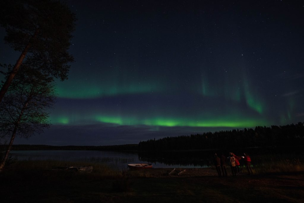 northern lights in rovaniemi finland september aurora aurora borealis helios tour photography don't need a DLSR camera