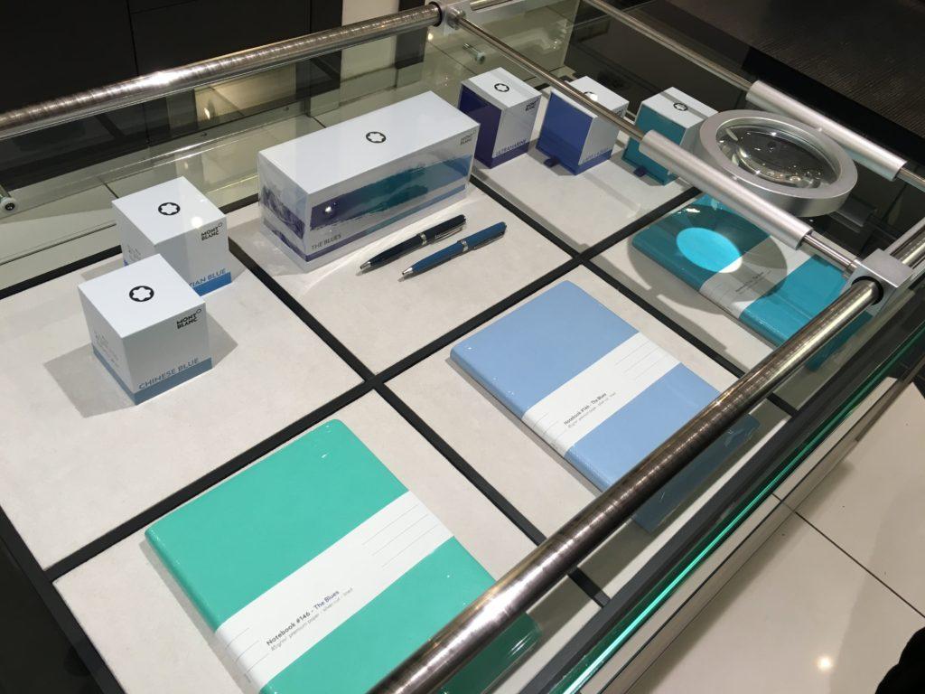 Schreibmayr stationery shop in munich germany planner supplies notebooks agenda diary organizer dot grid colorful