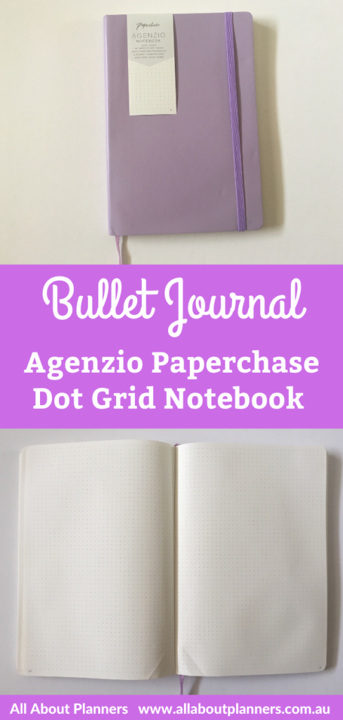 agenzio paperchase dot grid notebook review pros and cons video softbound 5mm dot grid spacing