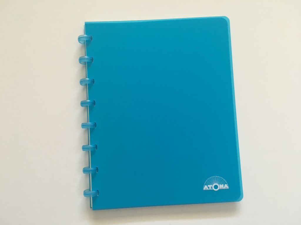 atoma discbound dot grid notebook review paper quality pen testing