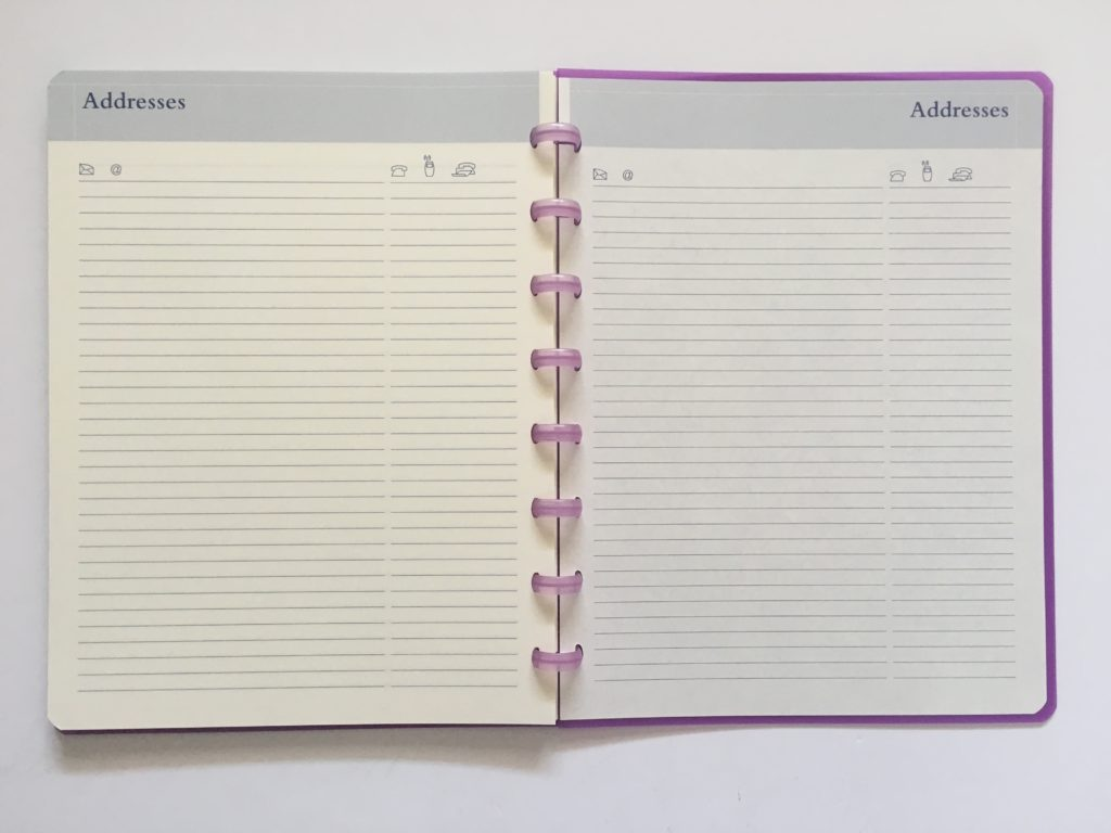 atoma discbound weekly planner review belgium address book