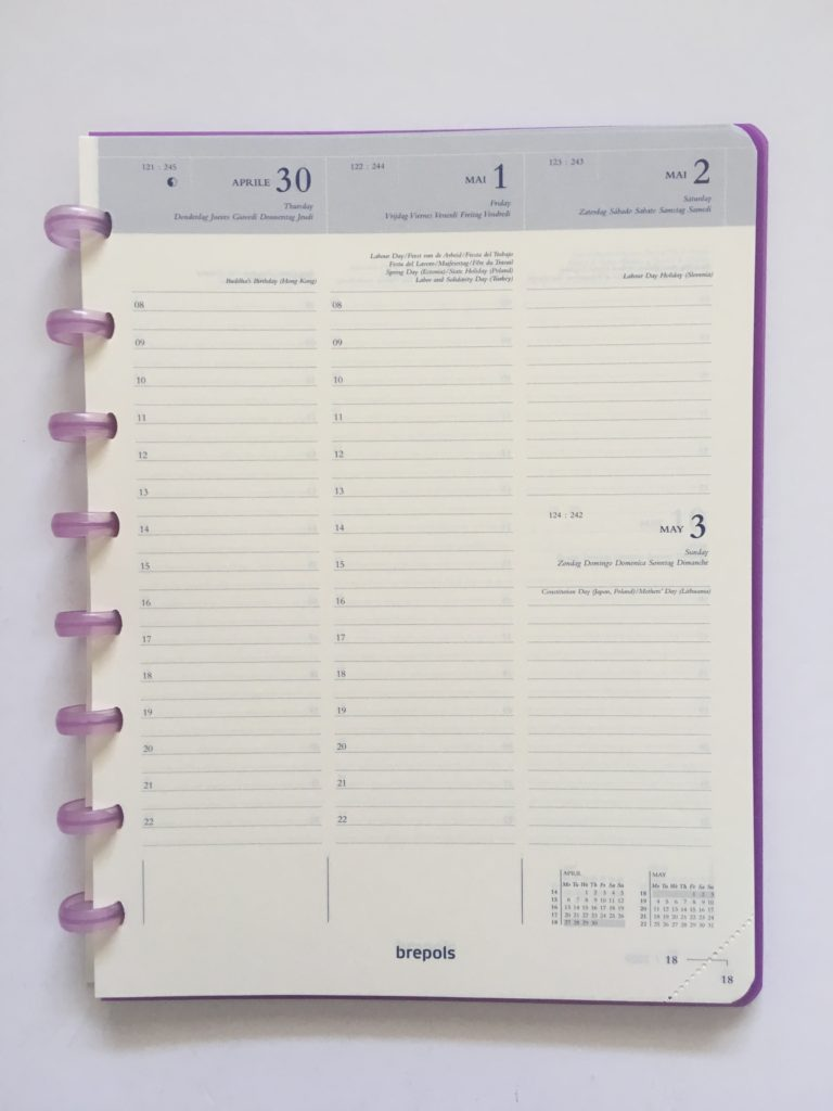 atoma discbound weekly planner review belgium hourly schedule vertical lined