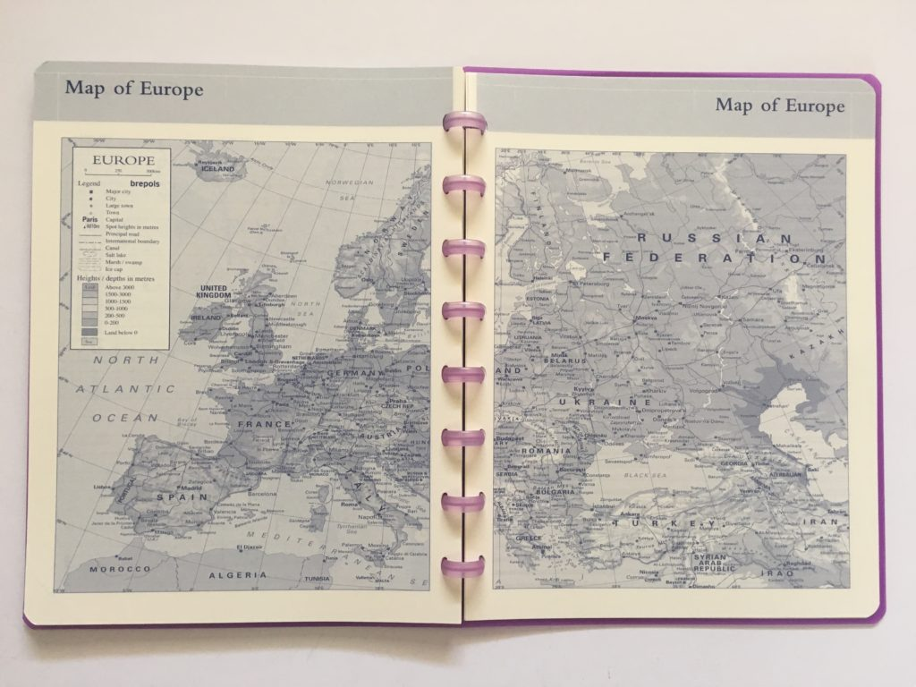 atoma discbound weekly planner review belgium map of europe