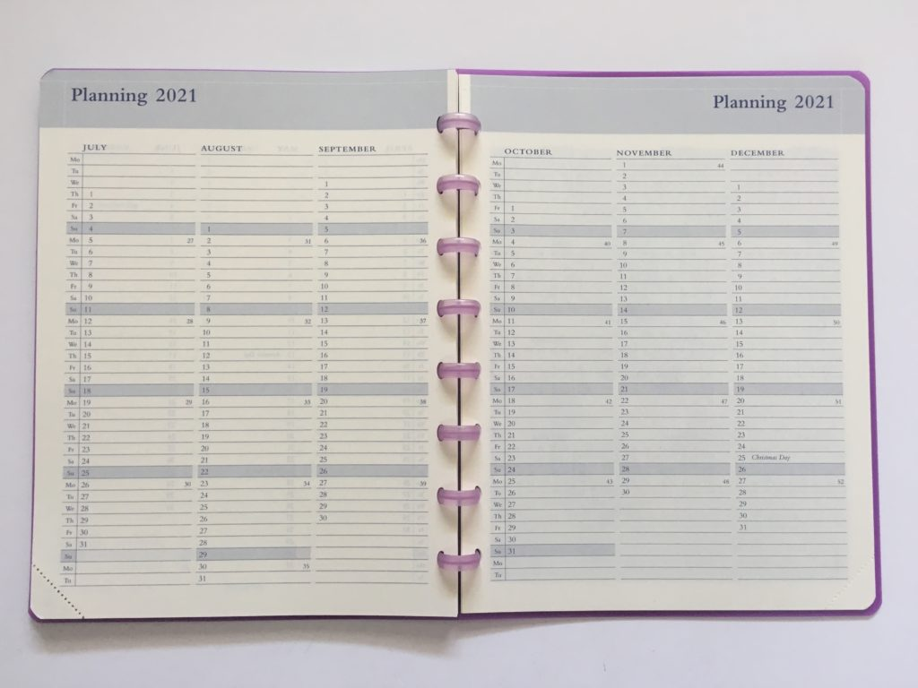 atoma discbound weekly planner review belgium monthly planning by quarter annual overview