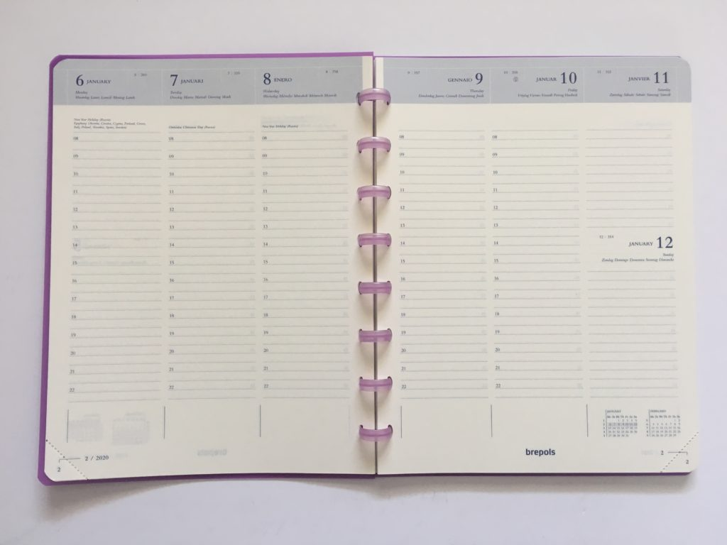 atoma discbound weekly planner review vertical layout scheduling 8am to 10pm