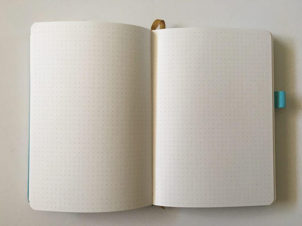buke stationery dot grid notebook 160 gsm paper