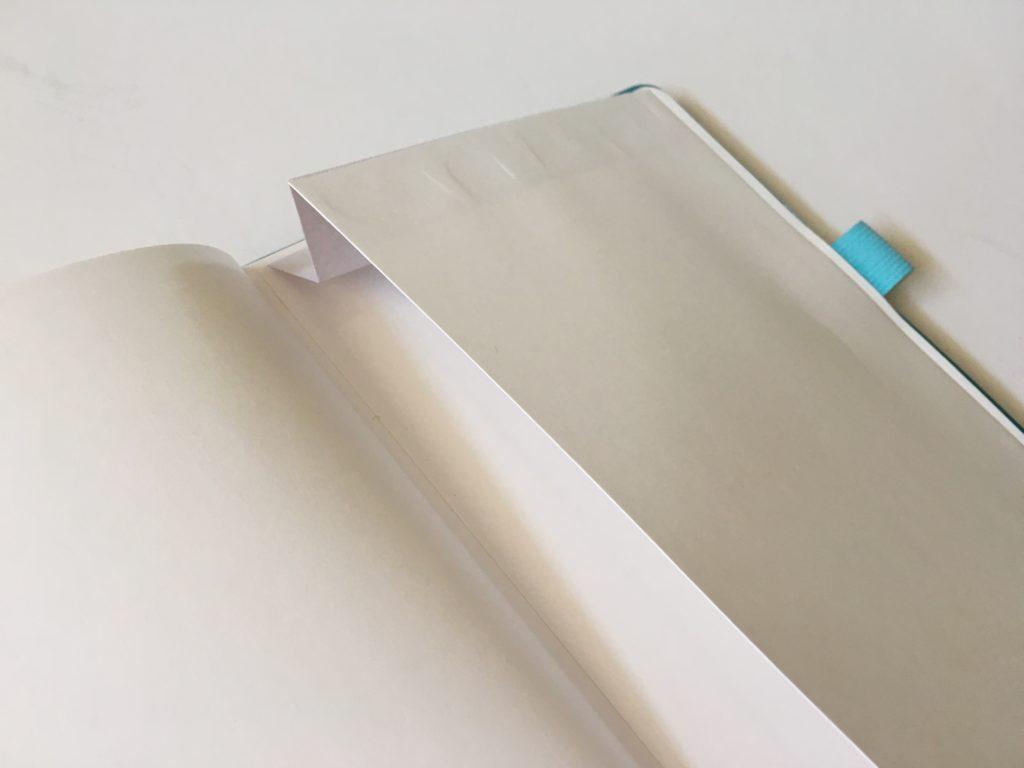 buke stationery dot grid notebook pocket folder