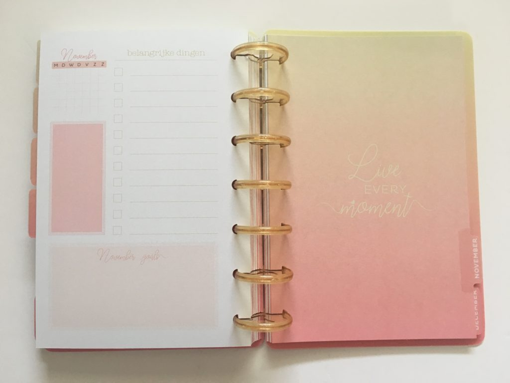 discbound horizontal weekly planner review musboeken monday week start graph grid paper planner divider