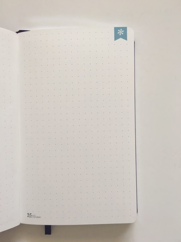 erin condren bullet journal notebook review bujo video flipthrough colorful