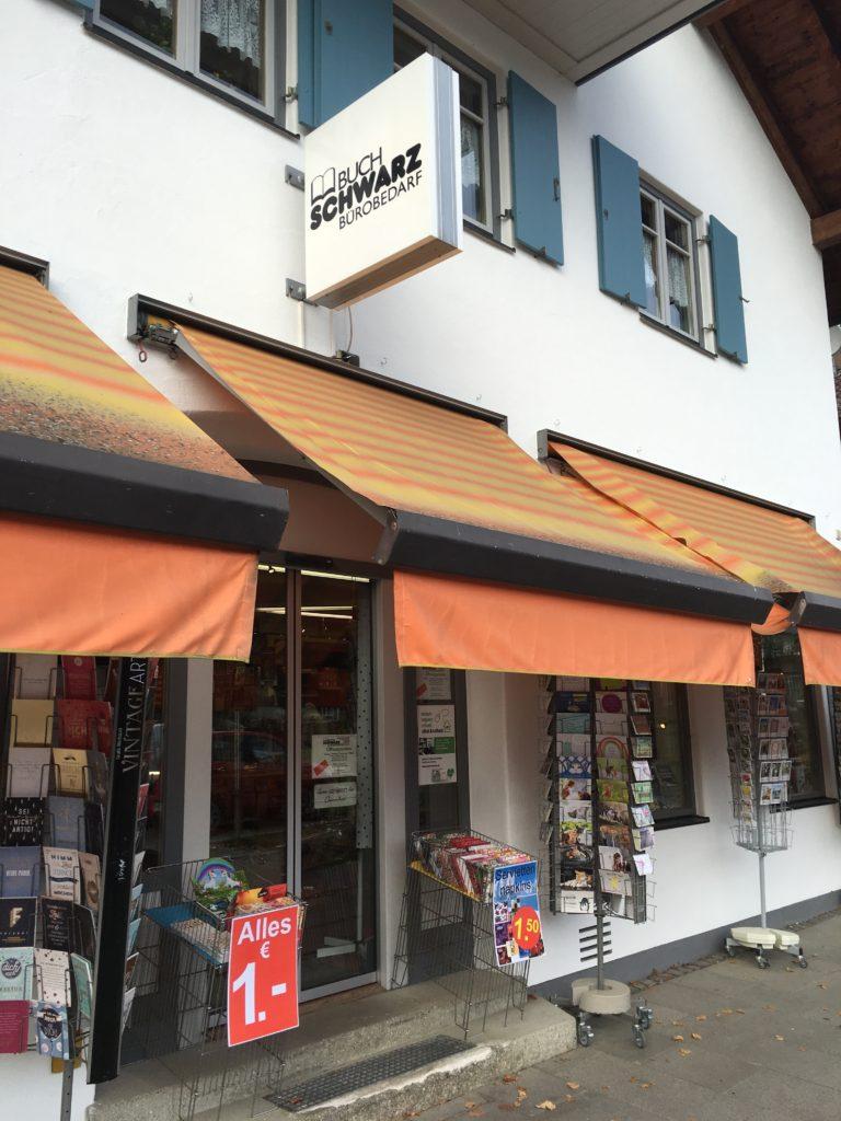 favorite stationery shops in Oberammergau bavaria germany recommendations for planner supplies Buch und Bürobedarf Schwarz Bookshop