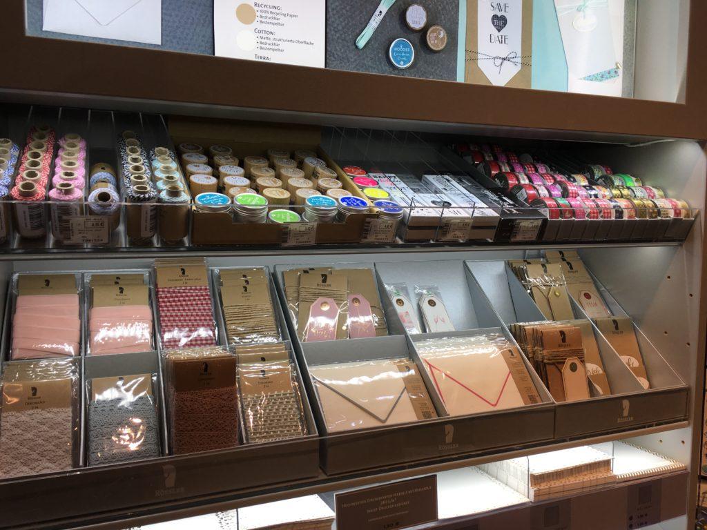frankfurt stationery bookstore notebooks washi tape brush markers gift shop