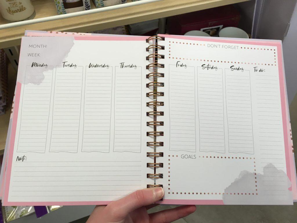 hallmark weekly planner standaard boekhandel antwerp belgium vertical weekly planner