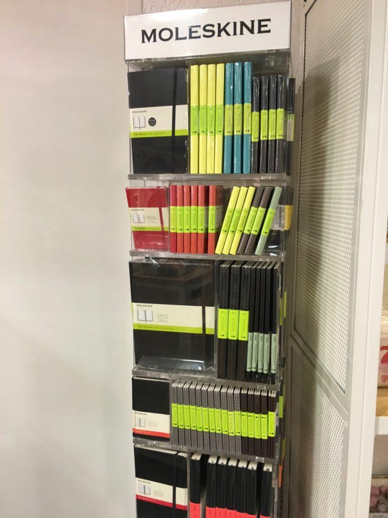 magazin planner supplies shop munich stationery moleskine dot grid notebook