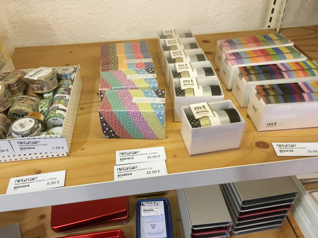 magazin stationery shop munich washi tape