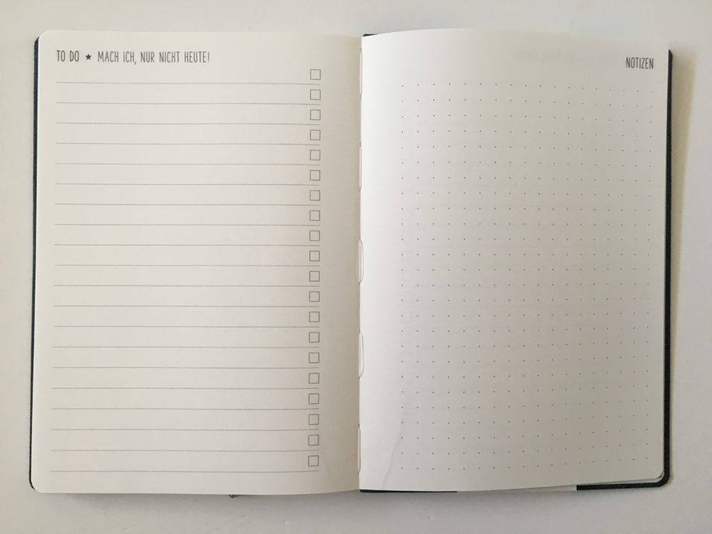 nature art termin planner review checklist dot grid notes pages horizontal monday start dot grid weekly spread