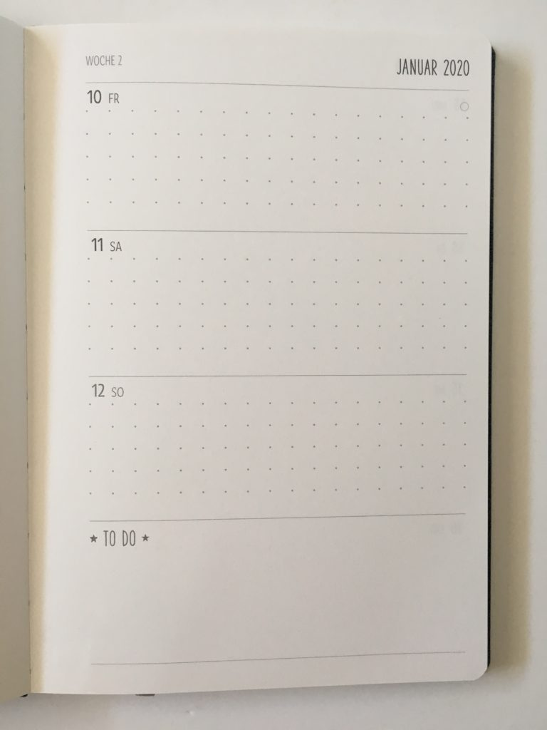 nature art termin planner review horizontal monday start with dot grid writing space