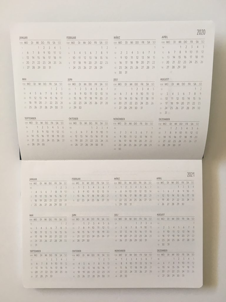 natureart termin planner review 2020 dated horizontal weekly planner dates at a glance mini portable page size