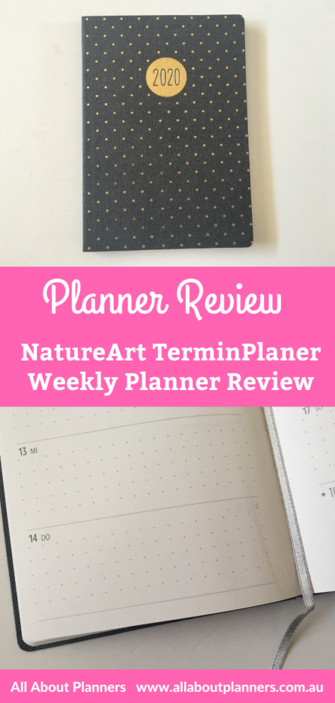 natureart terminplaner review grafik werkstatt germany monday weekly planner