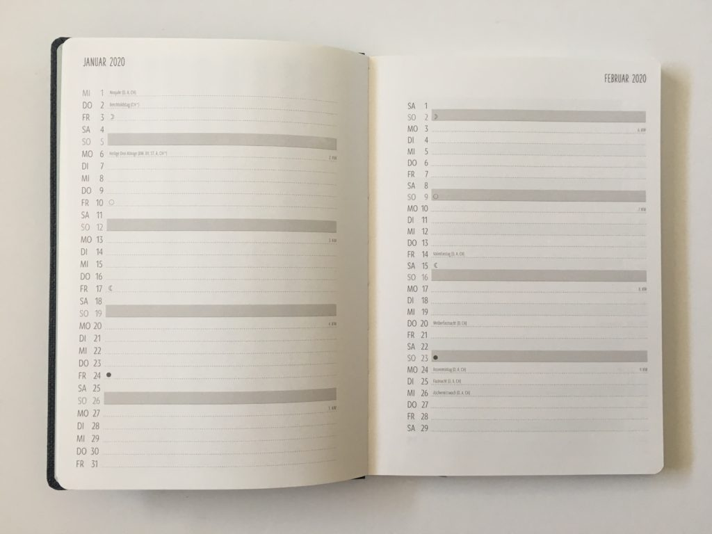 terminplaner nature art european planner review monthly calendar list format