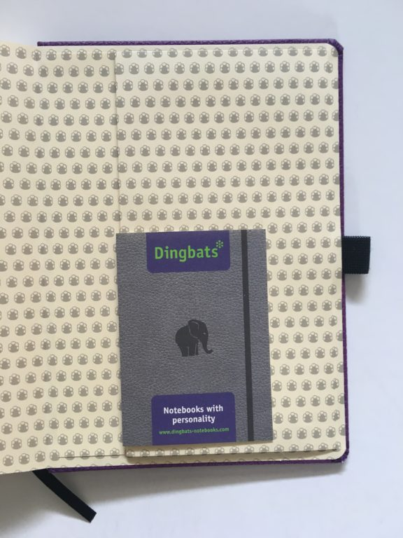 Dingbats dot grid notebook review bullet journal bujo smooth cream paper_13