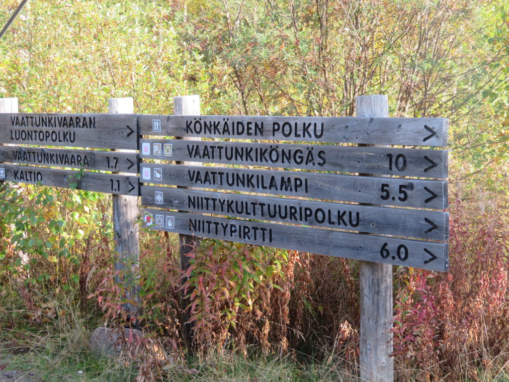 finland day trip to the finnish forest hiking trail beyond arctic tour autumn