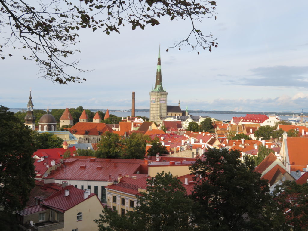 tallin estonia best viewpoints in the old town Kohtuotsa viewing platform things to see and do itinerary