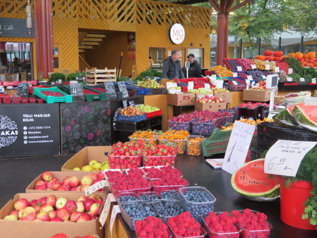 Balti Jaama Turg market tallin estonia things to see and do food market