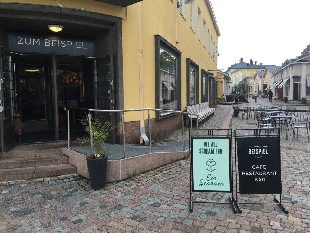 zum biespeil restaurant porvoo finland review