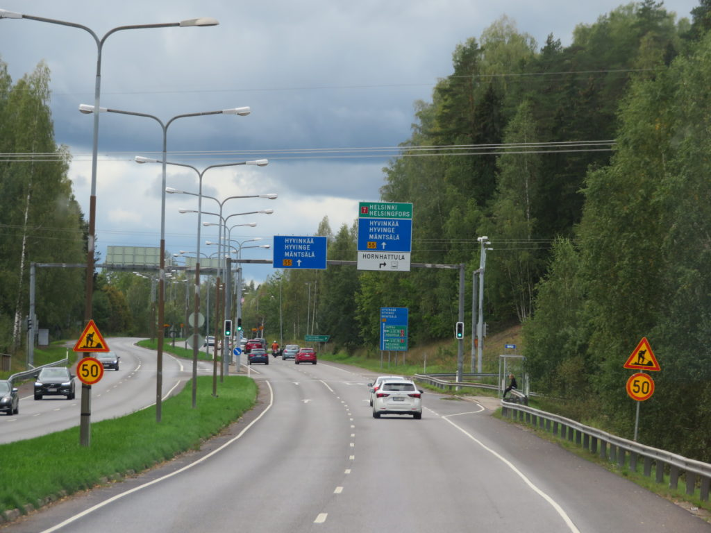poorvoo day trip from helsinki finland autumn things to see and do highway diy bus tour