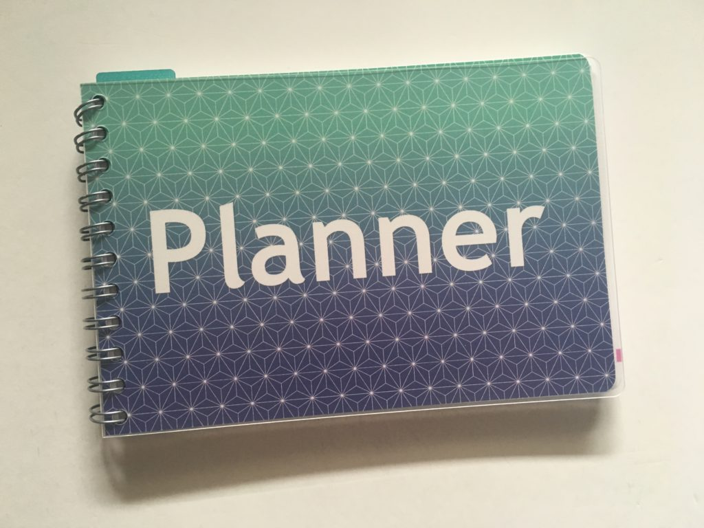 Personal planner weekly planner review custom cover you choose pattern text