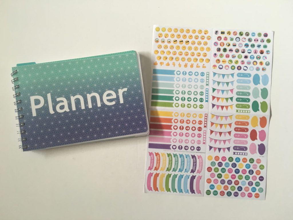 Personal planner weekly planner review video flipthrough pros and cons planner stickers add on