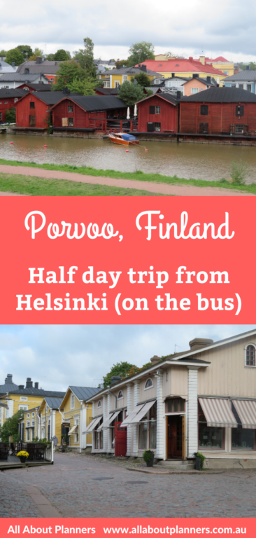 Porvoo finland half day trip from Helsinki diy itinerary on the bus things to see and do photo spots autumn september