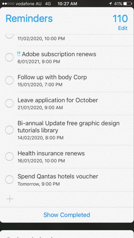 digital planning apps using the reminders app on your phone tips ideas digital versus paper planning all about planners