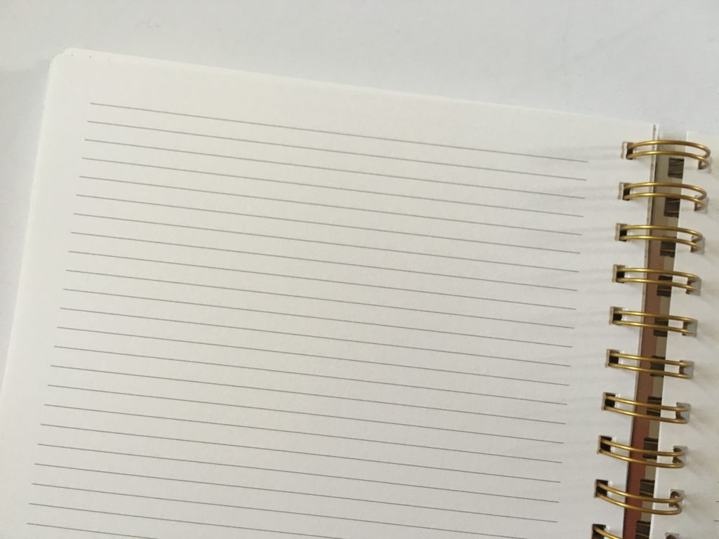 golden coil planner review custom weekly 2 page spread budget meal planning usa habit tracker goals wire bound lined notes pages