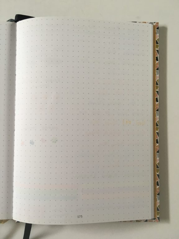 paperstore dot grid notebook for bullet journaling pen test paper quality