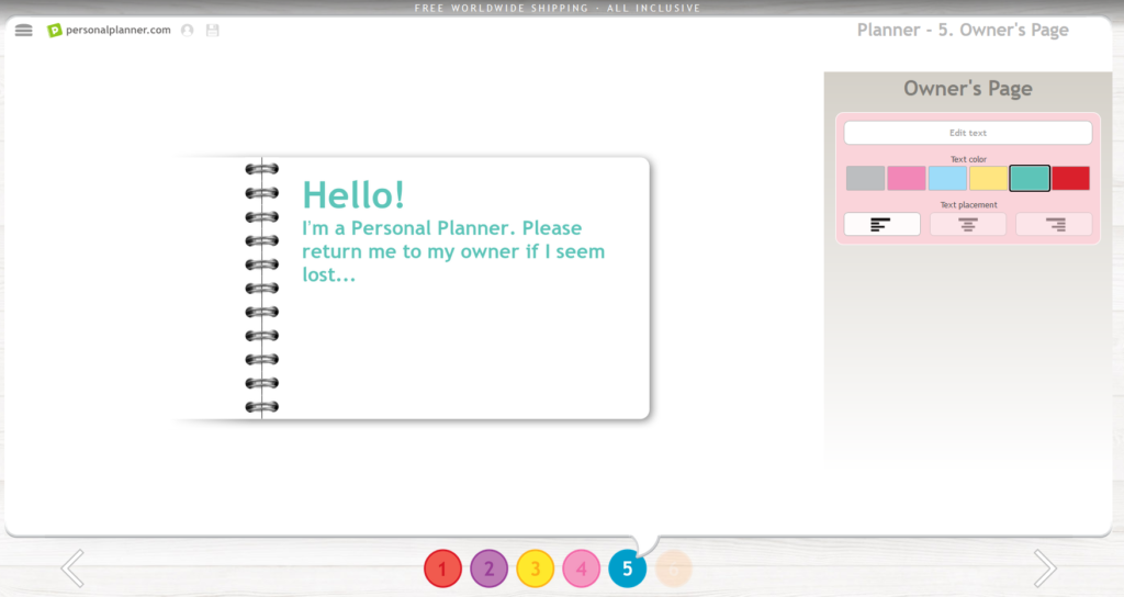 personal planner review custom weekly planner
