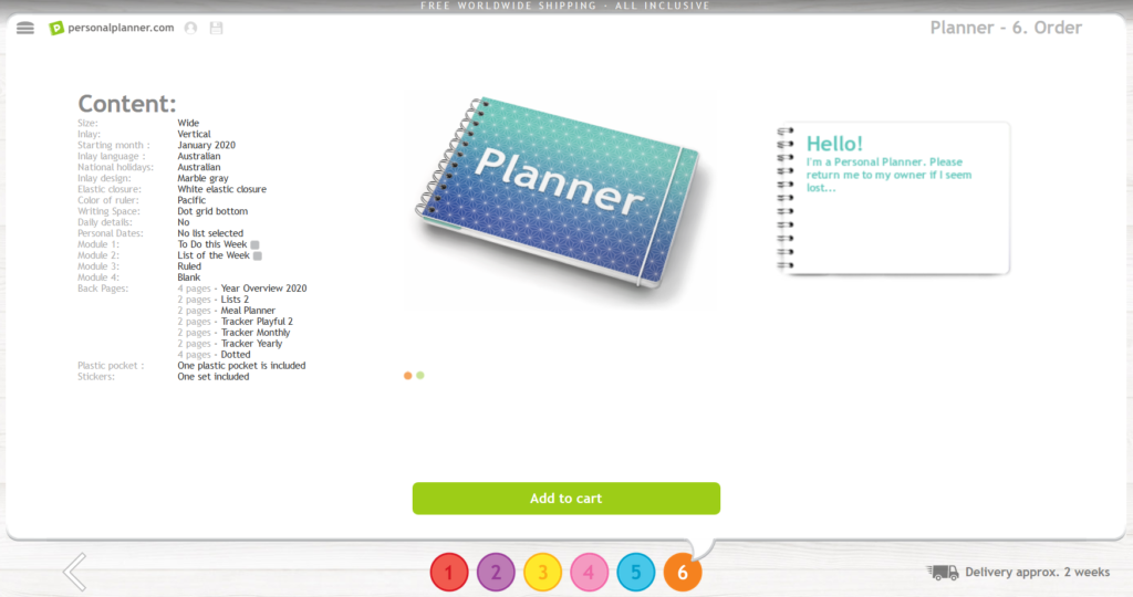 personal planner review custom weekly planner you choose inside layout add ons video review flipthrough