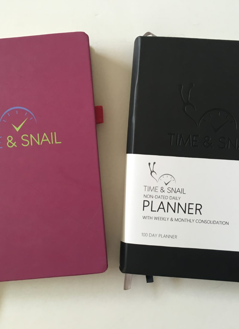 Time and Snail monthly / weekly / daily planner review (including video walkthrough)
