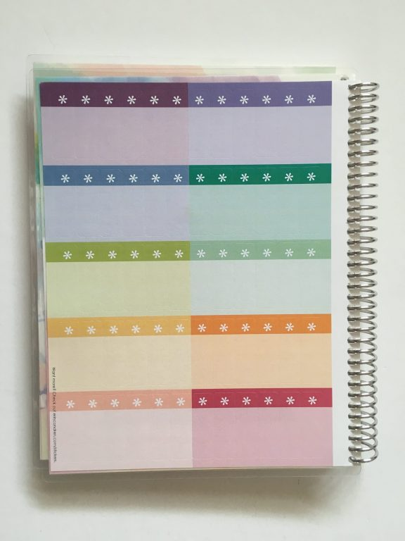 Erin Condren take note notebook personalised review pros and cons paper quality pen testing ghosting bleed through travel map cover medium coiled bound_16