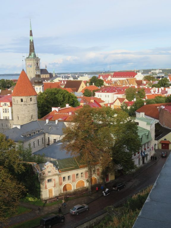 Patkuli viewing platform tallin estonia's best lookouts viewpoints autumn september medieval town