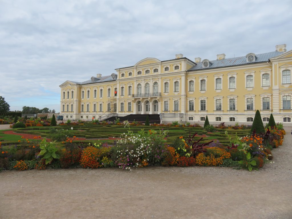 Rundale Palace day trip from Riga Latvia filming location for catherine the great miniseries things to see and do itinerary