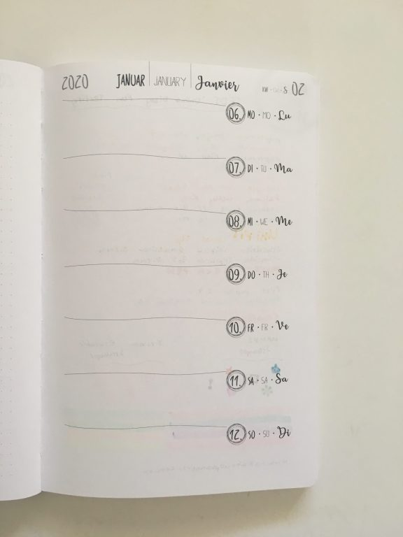 TED online diary pen testing paper quality ghosting bleed through planner review - from germany cheap