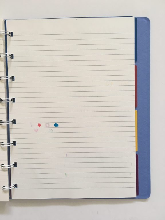 filofax refillable notebook review add remove rearrange pages similar to discound saffiano collection divider tabs lined cream paper pen testing a5 page size_09
