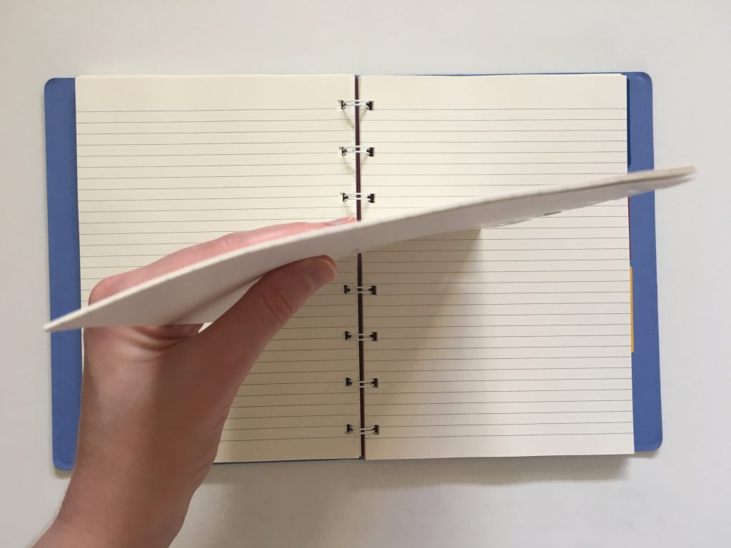 filofax refillable notebook review add remove rearrange pages similar to discound saffiano collection divider tabs lined cream paper pen testing a5 page size_13