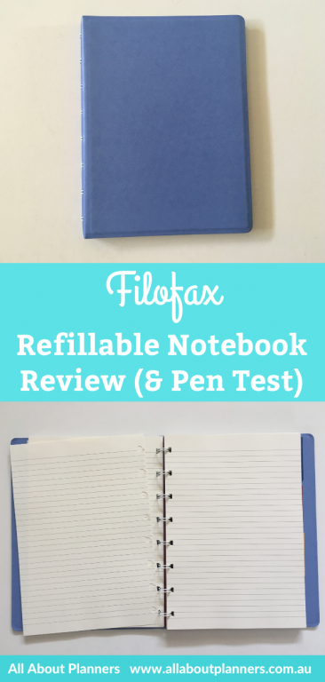 filofax saffiano collection refillable notebook a5 page size pen testing pros and cons alternative to discbound